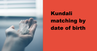 Basic Rules for Kundali Matching